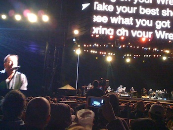 Bruce Springsteen Meadowlands Audience Shot